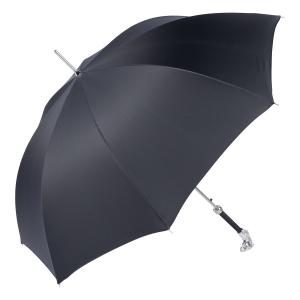 Зонт-трость Pasotti Horse Silver StripesS Black фото-4