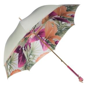 Зонт-трость Pasotti Oliva Felce Vetro Fuxia фото-2