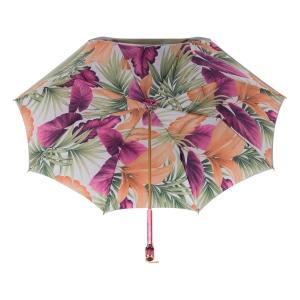 Зонт-трость Pasotti Oliva Felce Vetro Fuxia фото-3