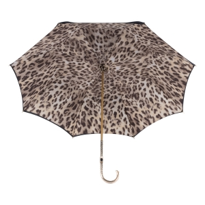 Зонт-трость Pasotti Nero Bars Oro фото-4