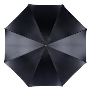 Зонт-трость Pasotti Nero Bars Oro фото-2