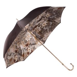 Зонт-трость Pasotti Marrone Novita Oro фото-3