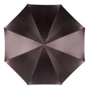 Зонт-трость Pasotti Marrone Novita Oro фото-2