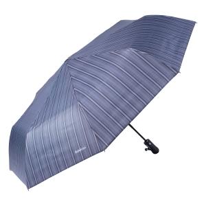 Зонт складной Baldinini 39-OC Double Stripes Grey фото-2