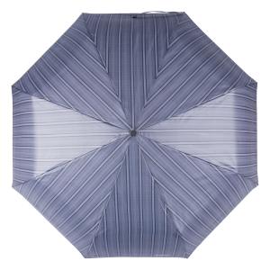 Зонт складной Baldinini 39-OC Double Stripes Grey фото-3