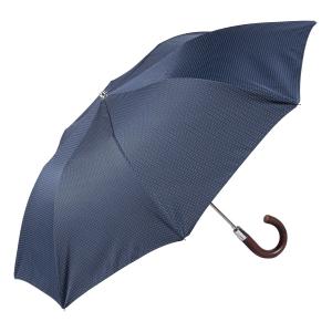 Зонт складной Pasotti Auto Legno Punto Blu фото-3