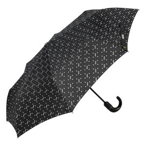 Зонт складной Moschino M 8505-OCA Man Dots Black MINI фото-2