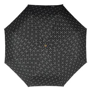 Зонт складной Moschino M 8505-OCA Man Dots Black MINI фото-3