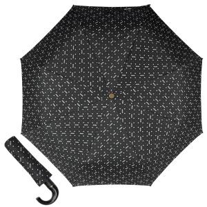 Зонт складной Moschino M 8505-OCA Man Dots Black MINI фото-1
