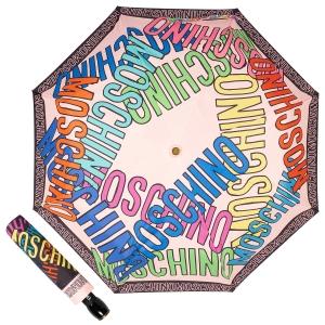 Зонт складной Moschino 8011-OCN Trocal Pink фото-1