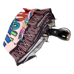 Зонт складной Moschino 8011-OCN Trocal Pink фото-4