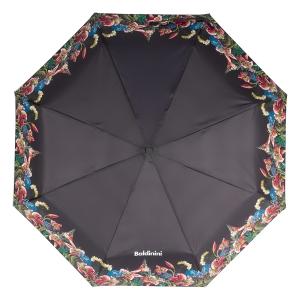Зонт складной Baldinini 50-OC Giglio Black фото-3