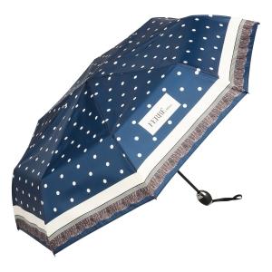 Зонт складной Ferre 6014-OC Dots Blu фото-2