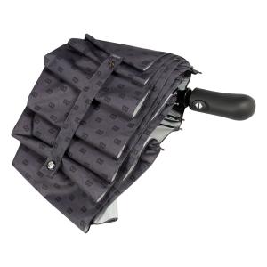Зонт складной Baldinini 39-OC Logo Grigio фото-4