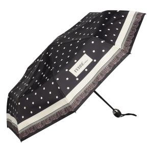Зонт складной Ferre 6014-OC Dots Black фото-2