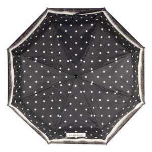 Зонт складной Ferre 6014-OC Dots Black фото-3