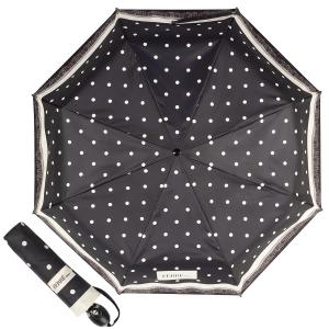 Зонт складной Ferre 6014-OC Dots Black фото-1