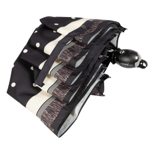 Зонт складной Ferre 6014-OC Dots Black фото-4