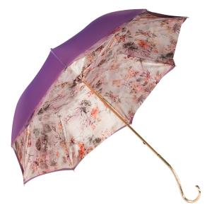 Зонт-трость Pasotti Giante Flora Oro фото-3