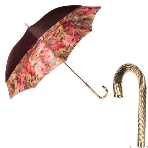Зонт-трость Pasotti Becolore Rosso Pion Spring фото-1