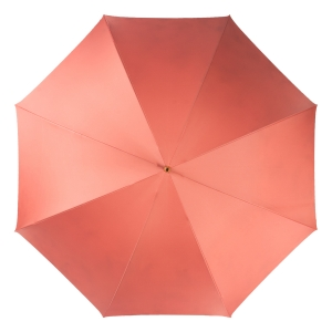 Зонт-трость Pasotti Magenta Daizy Pelle Ivory фото-2