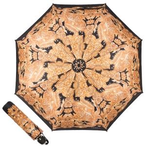 Зонт складной Ferre 6009-OC Сorona Gold фото-1