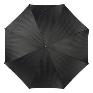 Зонт-трость Pasotti Labradore Silver Codino Black фото-3