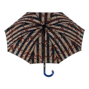 Зонт-трость Baldinini 49-LA  Сatena Stripes Blu фото-2