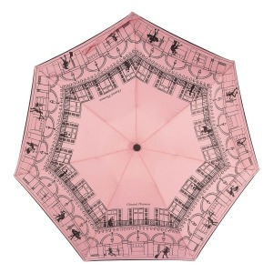 Зонт складной Chantal Thomass 409-OC Mini Paris Pink фото-3