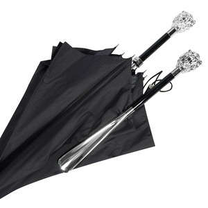 Комплект Pasotti Leone Black Зонт и Ложка на подставке  фото-1
