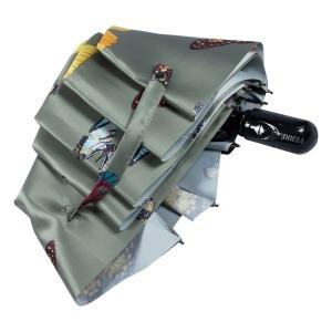 Зонт складной Ferre 371-OC Butterfly Militari Gree фото-4