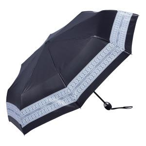 Зонт складной Ferre 6014-OC Line Dentel Black фото-2