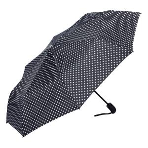 Зонт складной Ferre 371-OC Pois Black фото-2