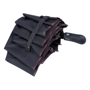 Зонт складной Ferre 3016-OC Logo Classic Brown фото-4