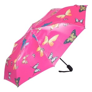 Зонт складной Ferre 371-OC Butterfly Fuxia фото-2