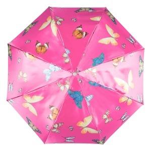 Зонт складной Ferre 371-OC Butterfly Fuxia фото-3