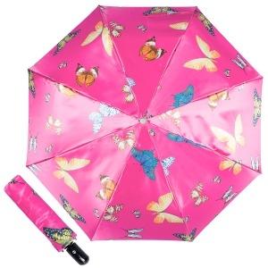 Зонт складной Ferre 371-OC Butterfly Fuxia фото-1