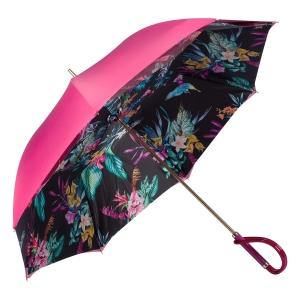 Зонт-трость Pasotti Pink Giglio Plastica фото-2
