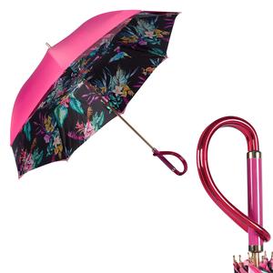 Зонт-трость Pasotti Pink Giglio Plastica фото-1