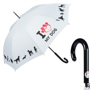 Зонт-трость EMME M426-LA Love Pets Beige фото-1