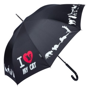 Зонт-трость EMME M426-LA Love Pets Black фото-2