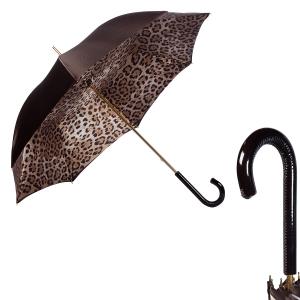Зонт-трость Pasotti Milford Leoparde Patent фото-1