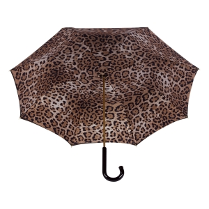Зонт-трость Pasotti Milford Leoparde Patent фото-4