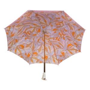 Зонт-трость Pasotti Rosa Chiaro Lumino Lux фото-4