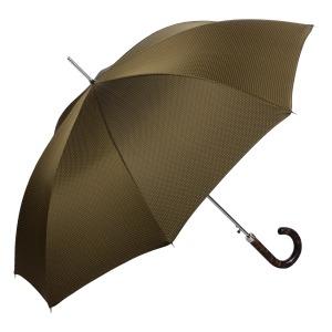 Зонт-трость Pasotti Tigrato Punto Hickory фото-3