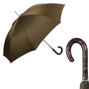 Зонт-трость Pasotti Tigrato Punto Hickory фото-1