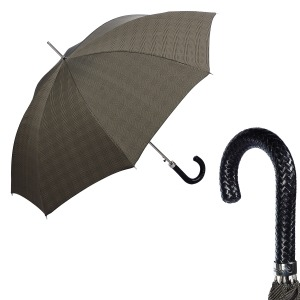 Зонт-трость Pasotti Braid Milford Beige фото-1