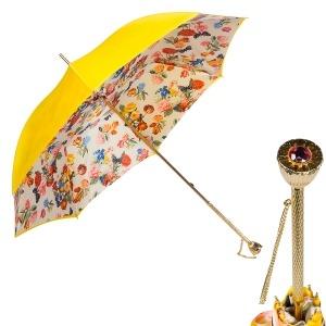 Зонт-трость Pasotti Giallo Champ Copa фото-1
