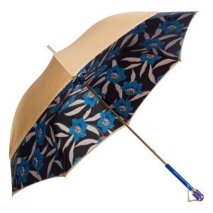 Зонт-трость Pasotti Sand Lis Blu Vetro фото-3