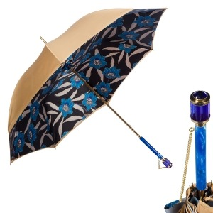Зонт-трость Pasotti Sand Lis Blu Vetro фото-1